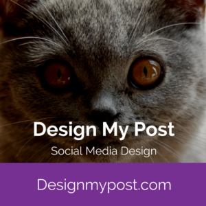 Design my post. social media content design