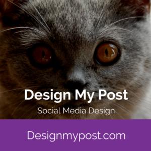 Design my post. social media content design