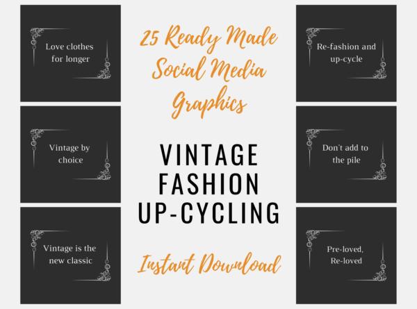 Vintage Fashion graphics